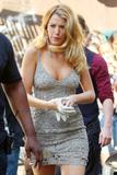 Blake Lively Fishnets and Cleavage pictures