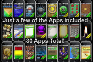 80 in 1 APPZILLA v2.0 For iPhone iPod Touch and iPad