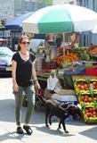 Джулианн Мур, фото 10. Julianne Moore walks her black doggy in New York, photo 10