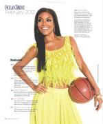 Габриэль Юнион, фото 1150. Gabrielle Union Ocean Drive Magazine February 2012, foto 1150